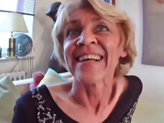 Cock Mad Granny Wants A Good Fucking !