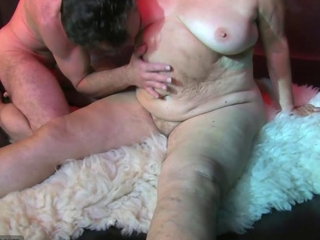 OldNanny Fat big granny have a sex with young guy