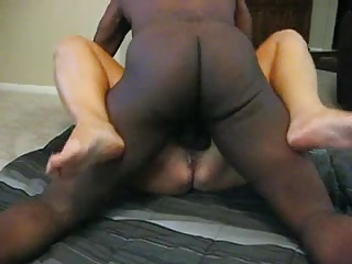 CUCKOLD FILMING HIS GRANNY WIFE FUCKED BY A HUGE COCK