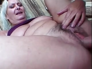 Granny fucked by pool guy part 2